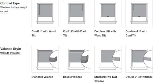 Controls for Bali metal blinds