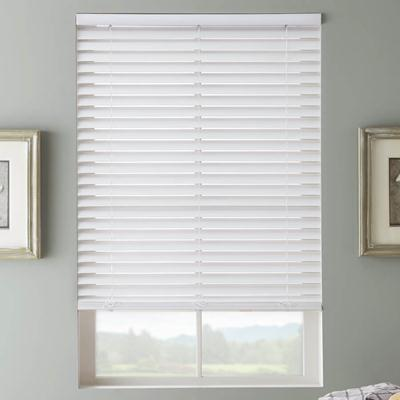 Faux wood 2 inch blinds