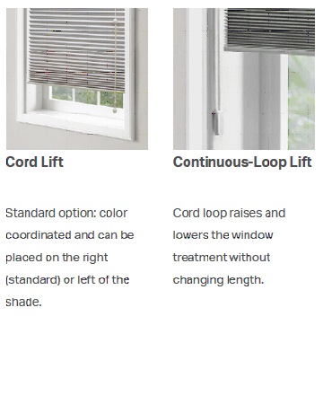 Cord lift options cwll shades bali