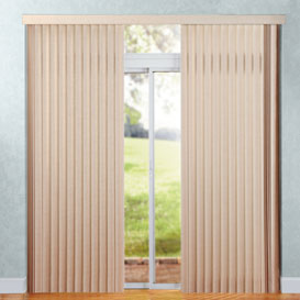 Split stack option for Levolor vertical blind