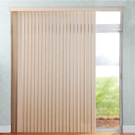 Stack left option forLevolor vertical blinds