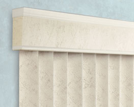 Transitional Valance for Levolor Vertical blinds