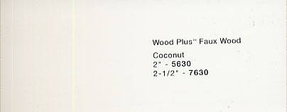 Bali 2 Inch Faux Wood Blinds