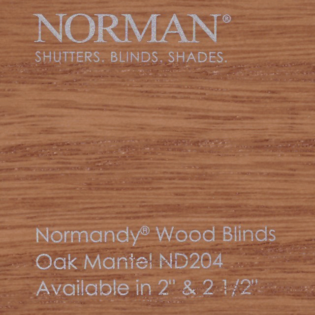 Norman Normandy 2 Inch Real Premium Wood Blinds
