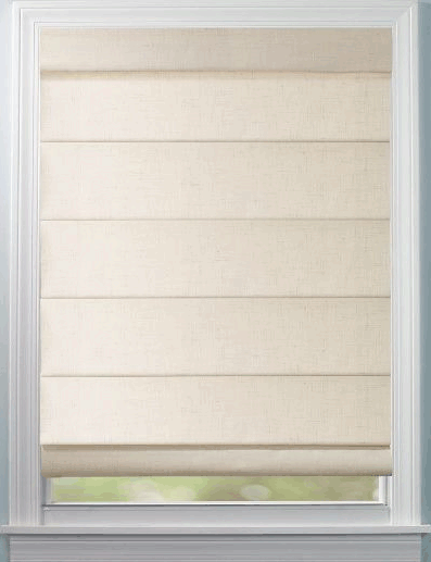 Levolor Roman Shades Seclusions Hobbled Style A Great