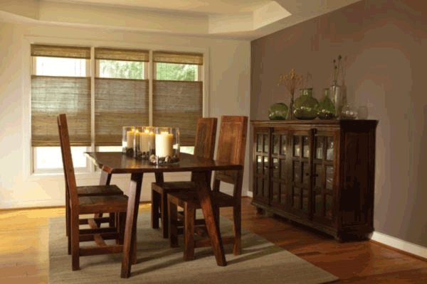 Levolor Natural Shades Bamboo Essence Origami Light