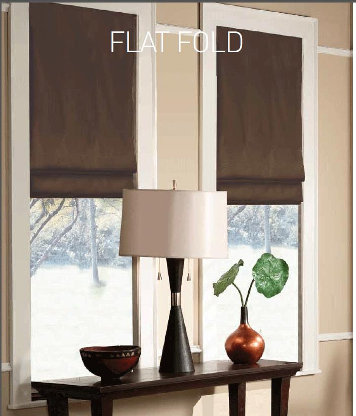 Flat Roman Shades For Windows : Roman shade blinds shades window treatment